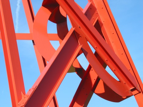 Di Suvero at Storm King Art Center